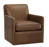 L1908-01SW Leather Swivel Chair