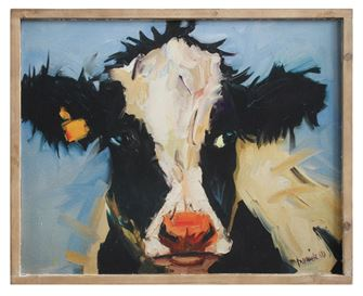Wood Framed Cow