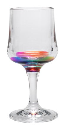 wine glass, acrylic, acrylic wine glass, acrylic glass, rainbow, rainbow wine glass, wine glass, unique wine glass, fun wine glass