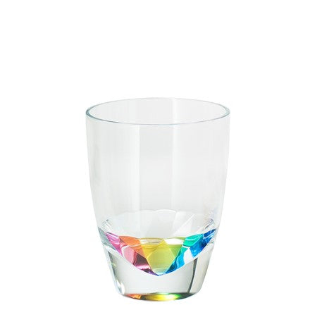 acrylic, acrylic glass, acrylic tumbler, glass, tumbler, rainbow, acrylic rainbow glass, rainbow glass, rainbow tumbler