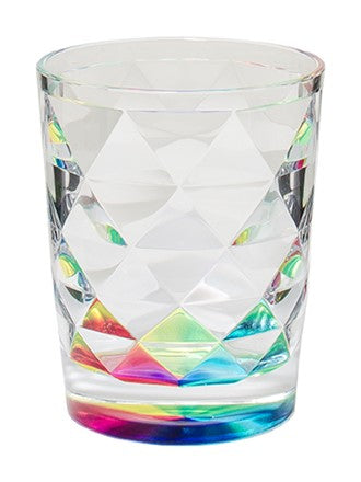 acrylic, acrylic glass, acrylic tumbler, rainbow, rainbow tumbler, rainbow glass, unique glass, unique tumbler
