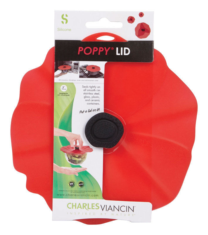 Silicon Poppy 13 in. Bowl Cover