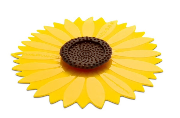 Silicon Sunflower 6 in. Bowl Cover