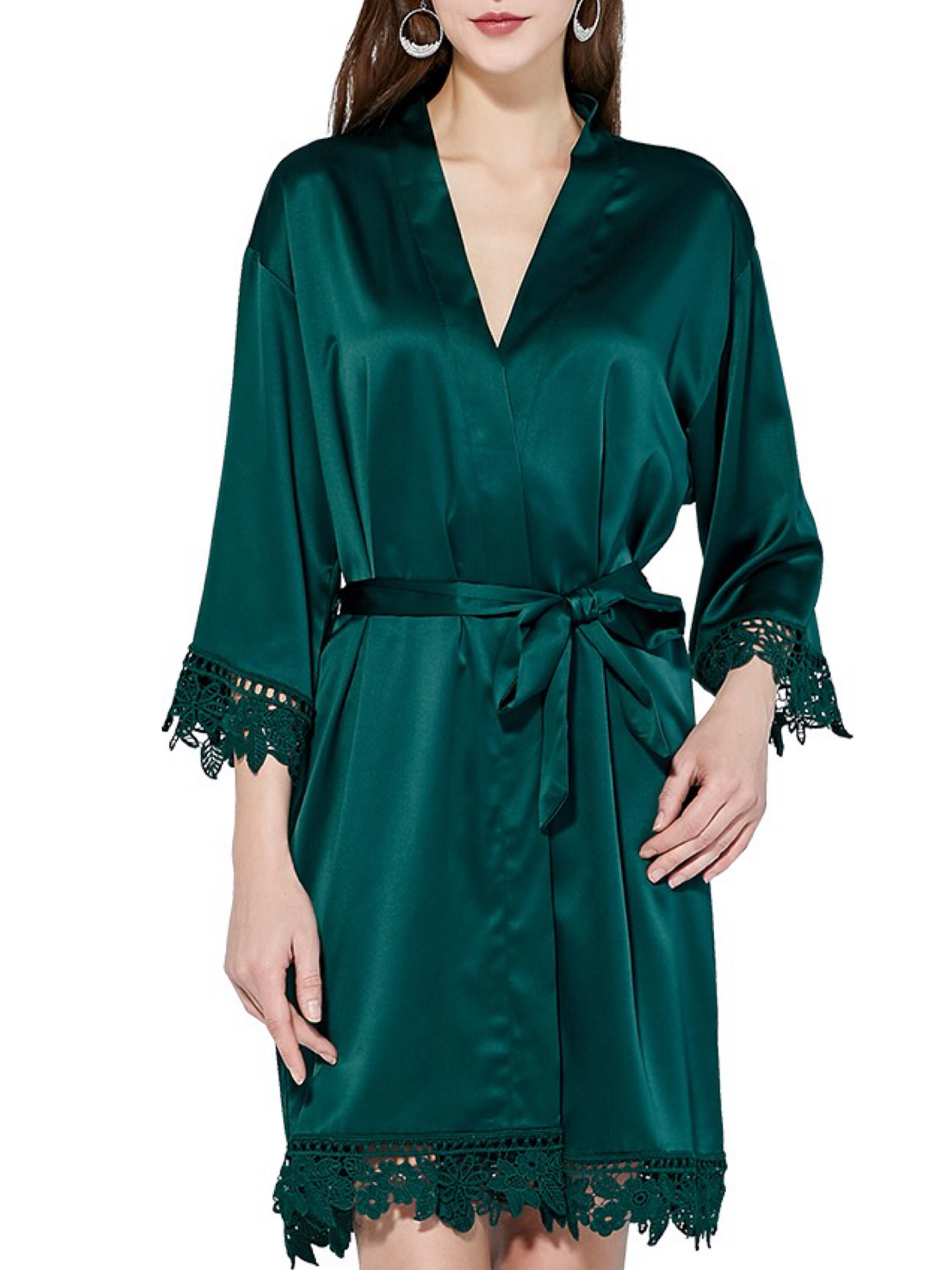 New 2020 Aurora Satin Emerald Green