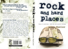 Rock and Hard Places by Andrew Mueller, Foruli Classics, ISBN 9781905792092, cover spread