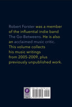 The Ten Rules of Rock and Roll by Robert Forster, Foruli Codex, ISBN 9781905792139, back cover