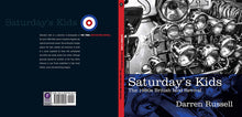 Saturday's Kids by Darren Russell, Foruli Codex, ISBN 9781905792269, cover spread