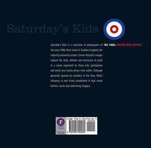 Saturday's Kids by Darren Russell, Foruli Codex, ISBN 9781905792269, back cover
