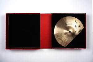 The Autobiography deluxe limited edition by Bill Bruford, Foruli, solander box with Paiste custom cymbal