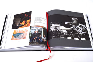 The Autobiography deluxe limited edition by Bill Bruford, Foruli, book