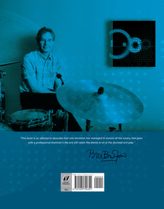 When in Doubt, Roll! limited edition book by Bill Bruford, Foruli Classics, ISBN 9781905792351, back cover