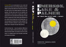 Emerson, Lake & Palmer by Forrester, Hanson & Askew, Foruli Classics, ISBN 9781905792399, cover spread