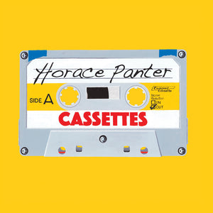 Cassettes by Horace Panter, Foruli Codex, ISBN 9781905792665, front cover
