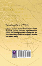Alternative Top 50 by TV Smith, Foruli Codex, ISBN 9781905792689, back cover