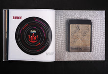 Deep Purple signature limited edition by Glenn Hughes, Foruli, 8-track cartridge of Burn