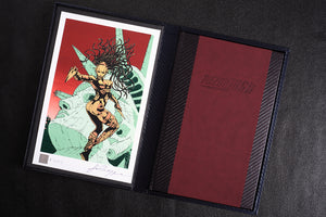 Razorjack deluxe signed limited edition by John Higgins, Foruli, book and gilded art print