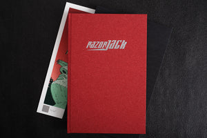 Razorjack signature limited edition by John Higgins, Foruli, book binding