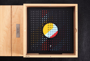 The Hacienda deluxe limited edition by Peter Hook, Foruli, wood solander box with vinyl record