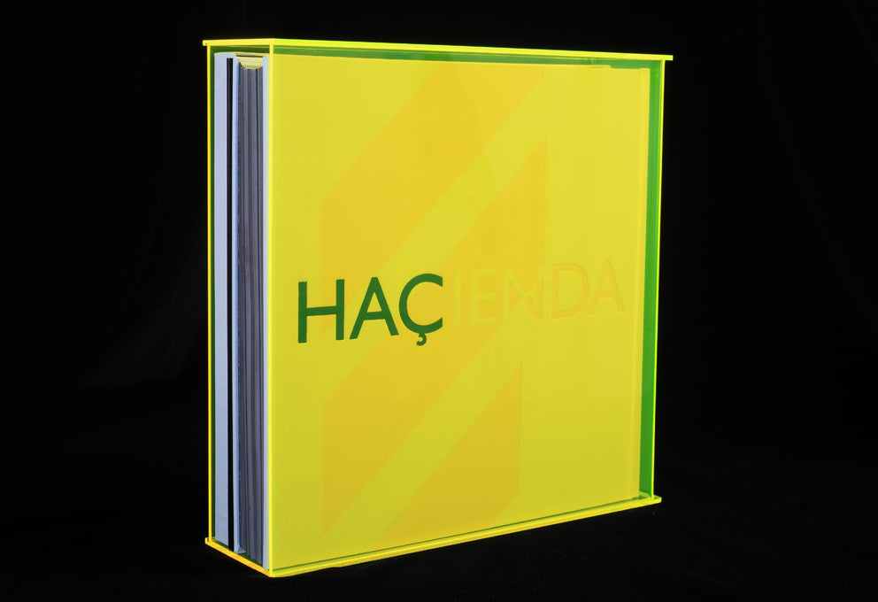 The Hacienda signature limited edition by Peter Hook, Foruli, perspex slipcase