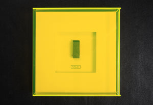 The Hacienda signature limited edition by Peter Hook, Foruli, dancefloor piece in mount