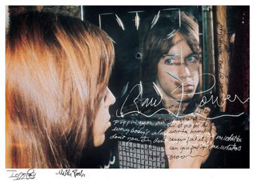 Iggy Pop & Mick Rock Raw Power #1 limited edition signed art print, Foruli
