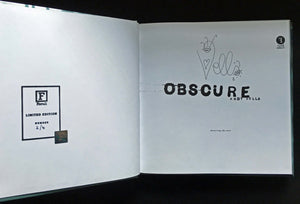 Obscure: Observing The Cure by Andy Vella, Foruli Codex, ISBN 9781905792443, calligraphy edition, number 2 of 4
