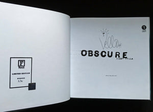 Obscure: Observing The Cure by Andy Vella, Foruli Codex, ISBN 9781905792443, calligraphy edition, number 3 of 4