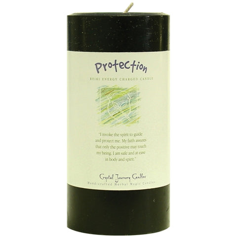 "Herbal 3"" x 6"" Pillars - Protection"