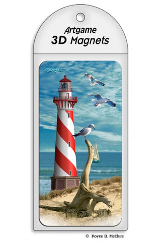 Lenticular Lighthouse Magnet