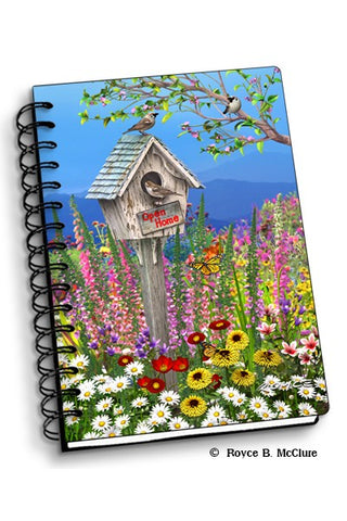 Lenticular Birdhouse Notebook