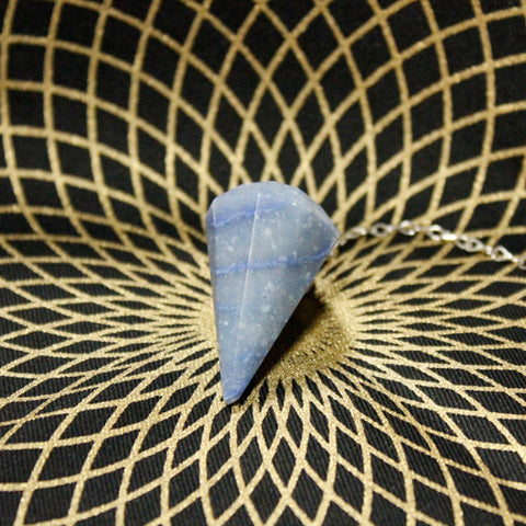 Blue Quartz Pendulum