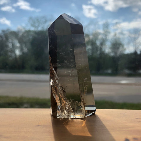 Smokey Quartz Standing Point