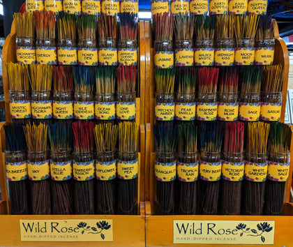 Wild Rose Incense Sticks - 10 Sticks