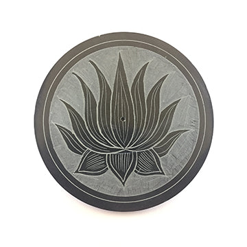 Lotus Black Stone Disk Ash Catcher