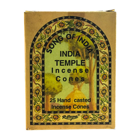 India Temple Incense Cones