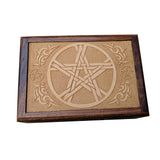 Wood Pentacle Box