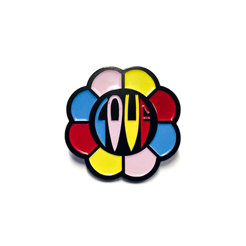 "Flower ""Love"" Enamel Pin"