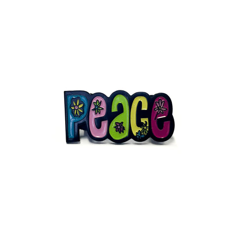 """Peace"" Enamel Pin"