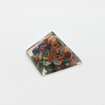 Organite Pyramid - Mixed Gemstone