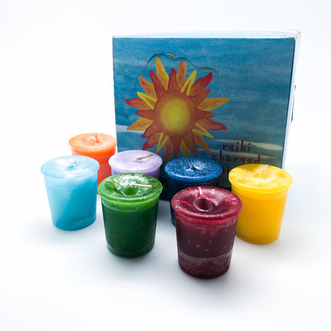 Reiki Charged Votive Candles