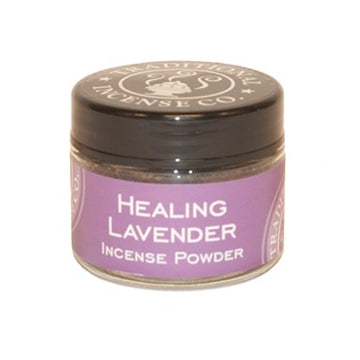 Healing Lavender Incense Powder Jar