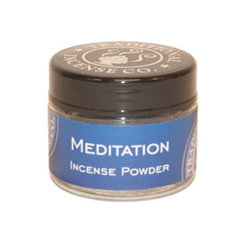 Meditation Incense Powder Jar