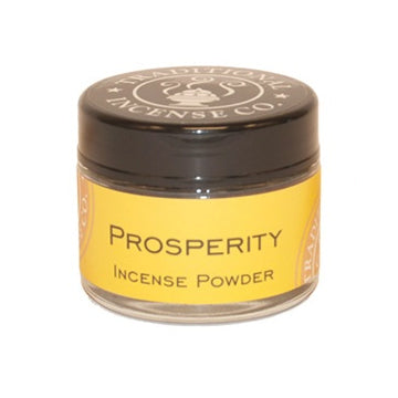 Prosperity Incense Powder Jar