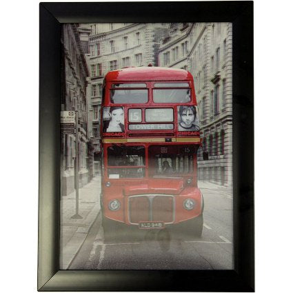 image of iconic 3d 25x35cm london routemaster