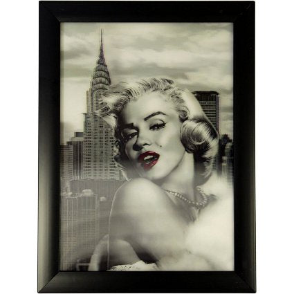 image of iconic 3d 25x35cm marilyn c