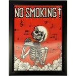 image of iconic 3d 40x30cm no smoking