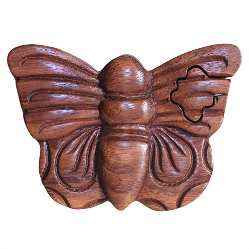 image of bali puzzle box butterfly