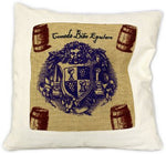image of cushion cover eat drink be merry