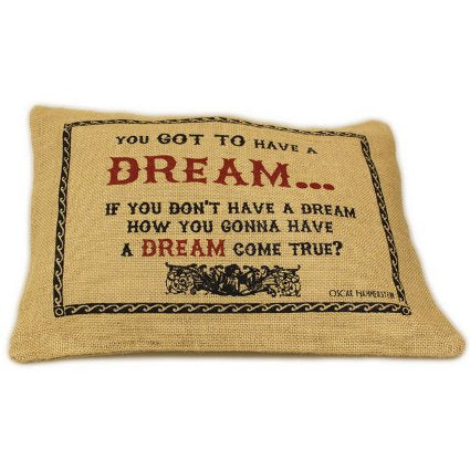 image of jute cushion cover dream