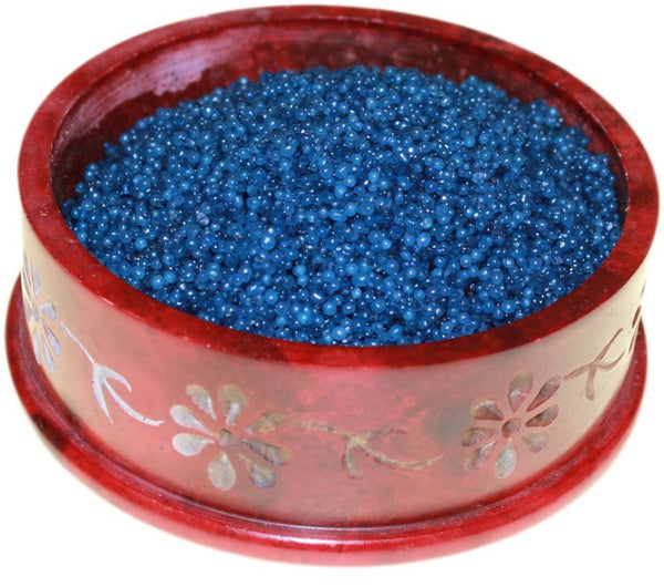 image of blackberry simmering granules 200g bag dark blue